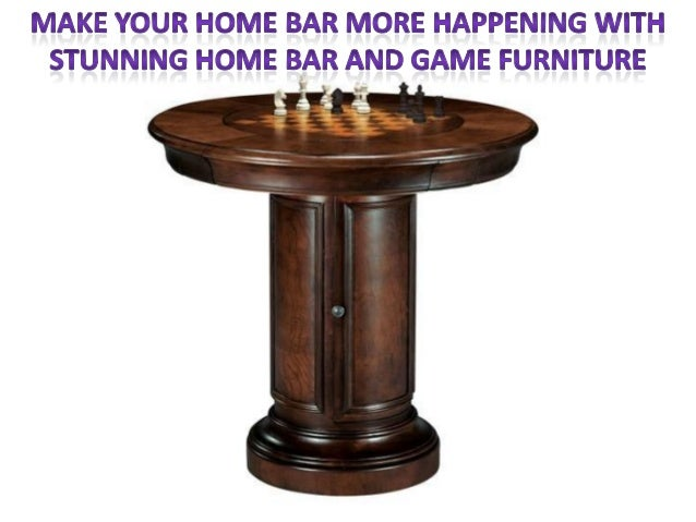 Happening With Stunning Home Bar And Game Furniture