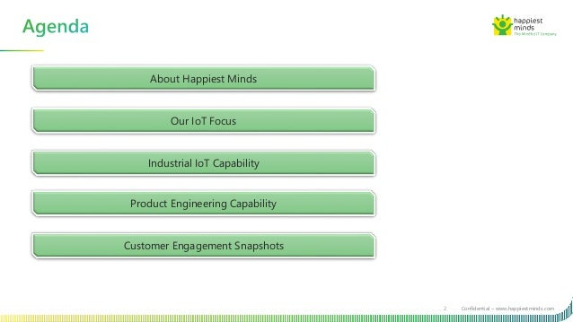 Happiest minds   industrial iot capability Slide 2