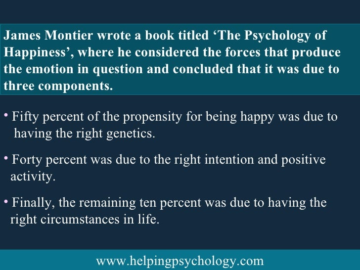 the psychology of happiness Martin seligman designed the perma model as a theoretical understanding towards achieving happiness what is the perma model and  course on the psychology of .