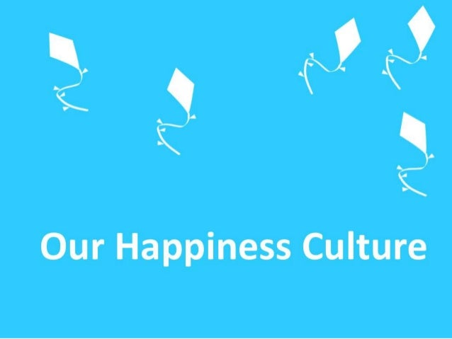 The Happiness Culture -  connecting personal happiness and social change - #CultureCode
