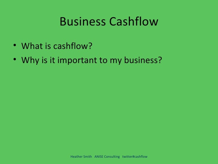 what is cash flow in business