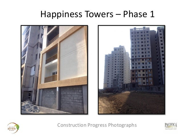 pacifica aurum happiness towers construction progress images. Black Bedroom Furniture Sets. Home Design Ideas