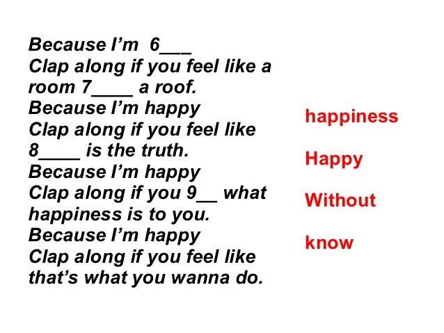 Happy by Pharrel Williams