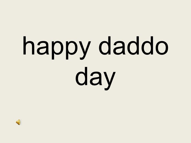 happy daddo day