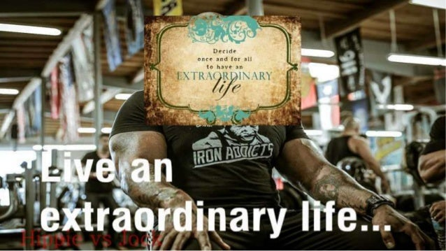 CT Fletcher Life Quote On Ordinary Extraordinary And Magnificent Obsession Slide 3