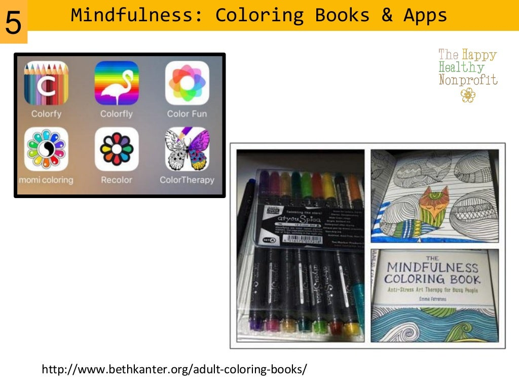 Mindfulness Coloring Books Apps