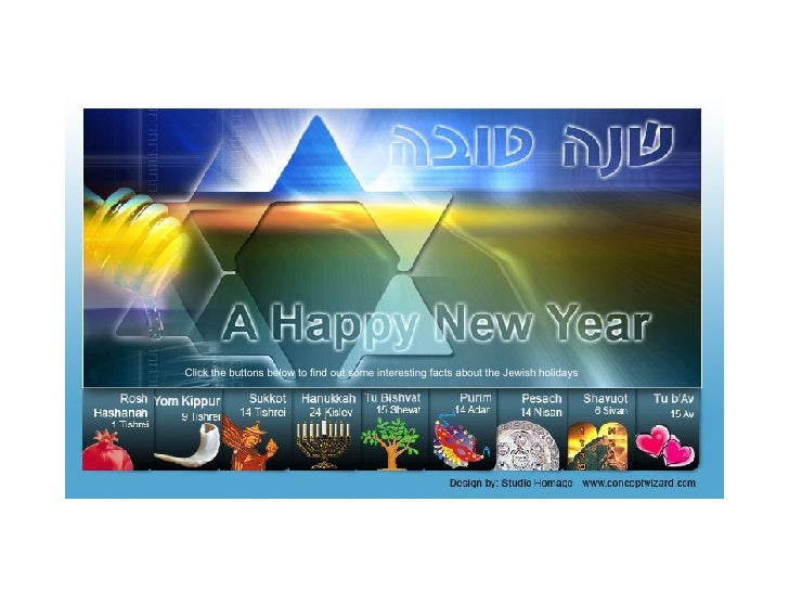 Click the buttons below to find out some interesting facts about the Jewish holidays