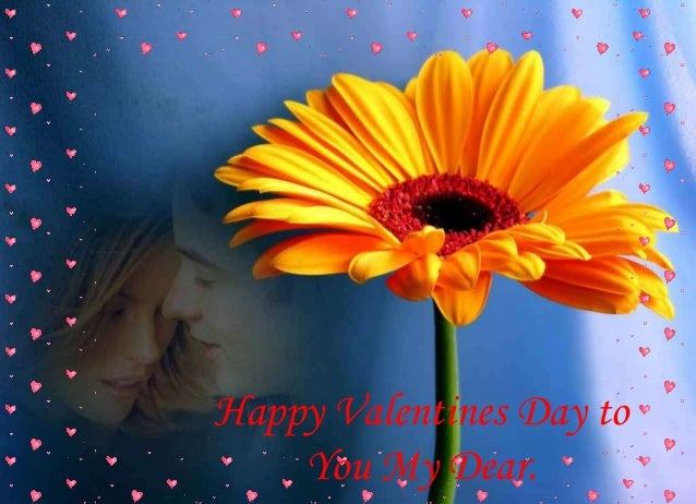 Happy Valentines Day to You My Dear.