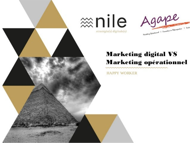 Marketing digital VS Marketing opérationnel HAPPY WORKER