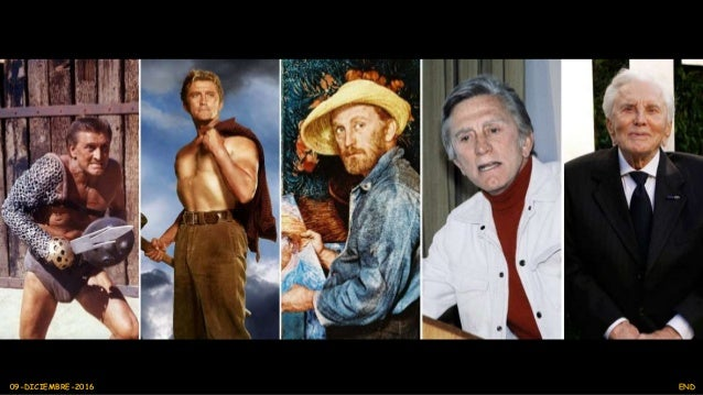 ¡Happy 100th Birthday Kirk Douglas! Remembering his Life and Career