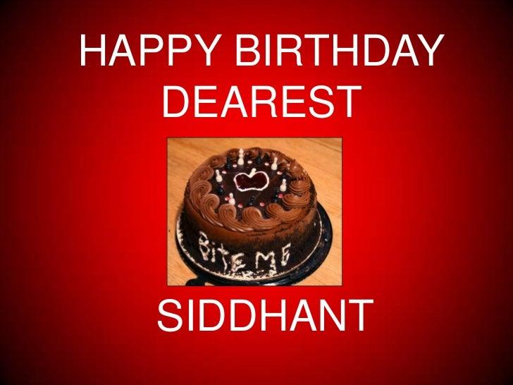 happy bday sid