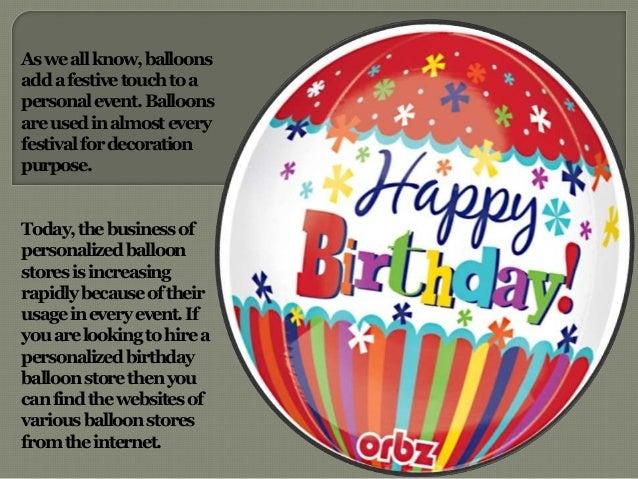 Balloonshaveagreatvalueto Celebrateaperfectandstylish Birthday 6 Asweallknowballoons Addafestivetouchtoa Personalevent