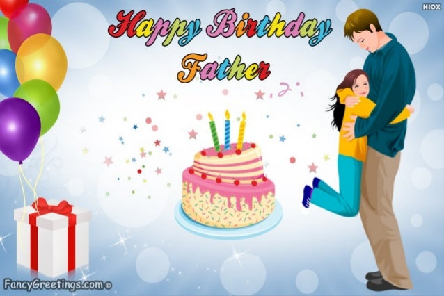 Father Is My Hero Happy Birthday