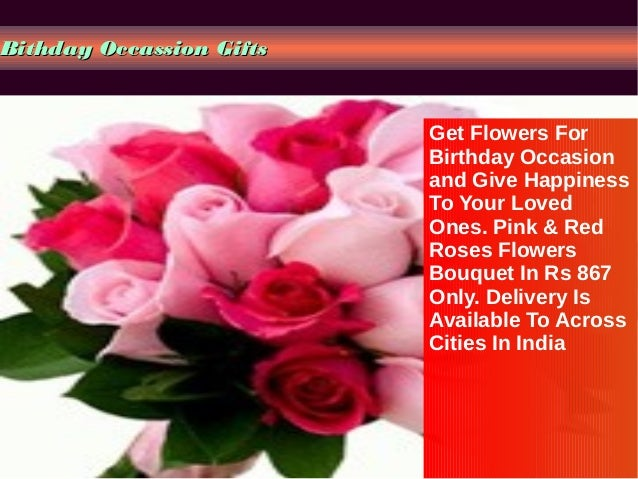 Send Birthday Gifts Online Indian Portal