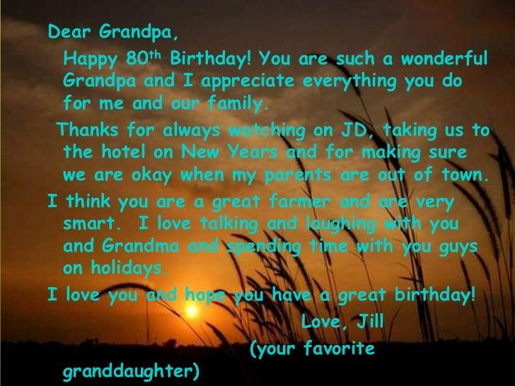 Happy Birthday Grandpa 1 22 12