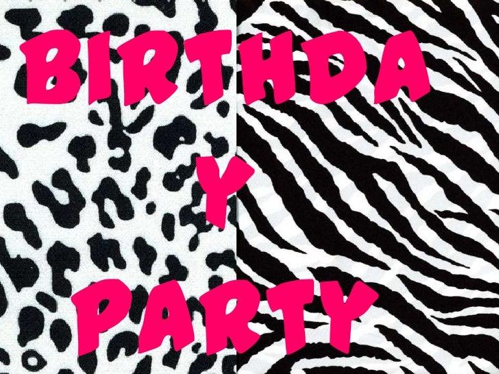 Birthda   y Party