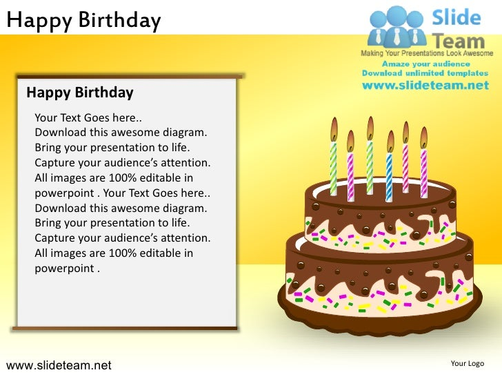 happy birthday powerpoint ppt templates
