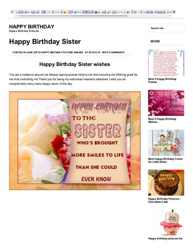 3252015 happy birthday sisterhappy birthday brother http