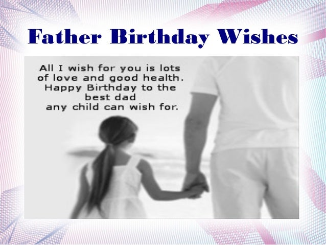 Love Wishes 7 Father