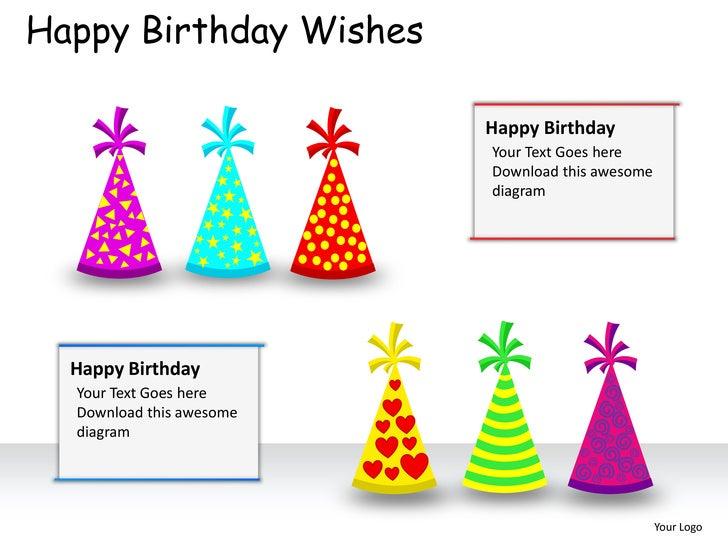 Happy birthday wishes powerpoint presentation templates – Happy Birthday Greeting Text