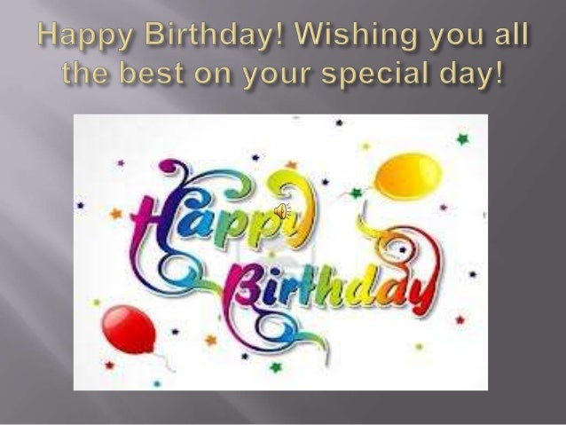 Fabulous Happy Birthday Wishing You All The Best Personalised Birthday Cards Bromeletsinfo