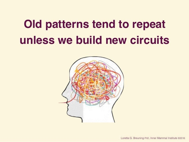 Old patterns tend to repeat unless we build new circuits