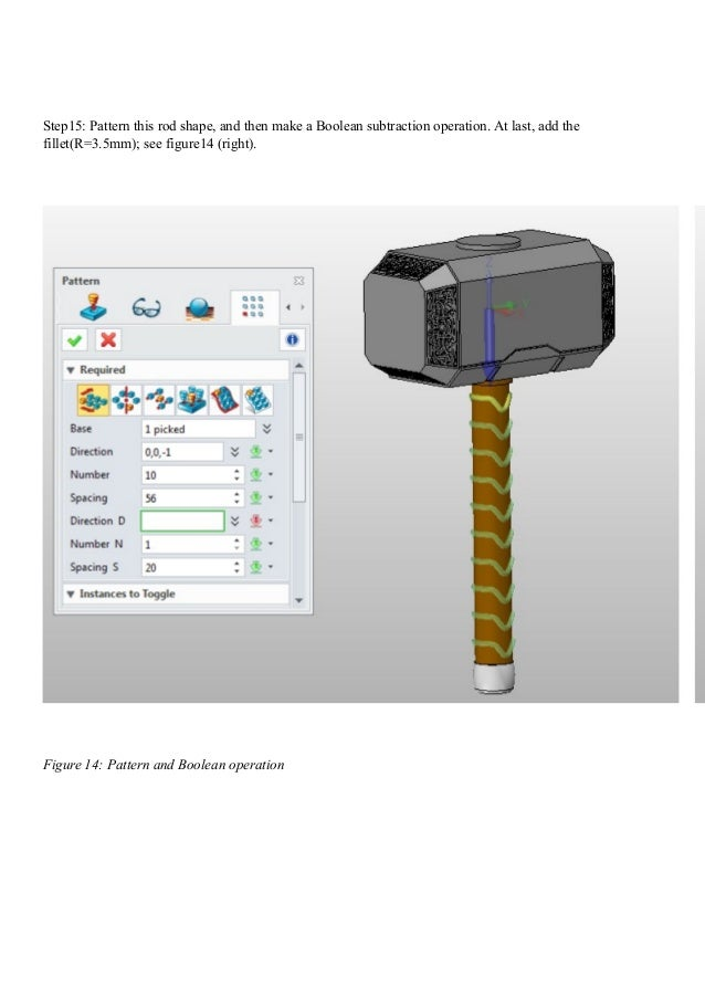 happy ca ding with zw3 d design the thor hammer