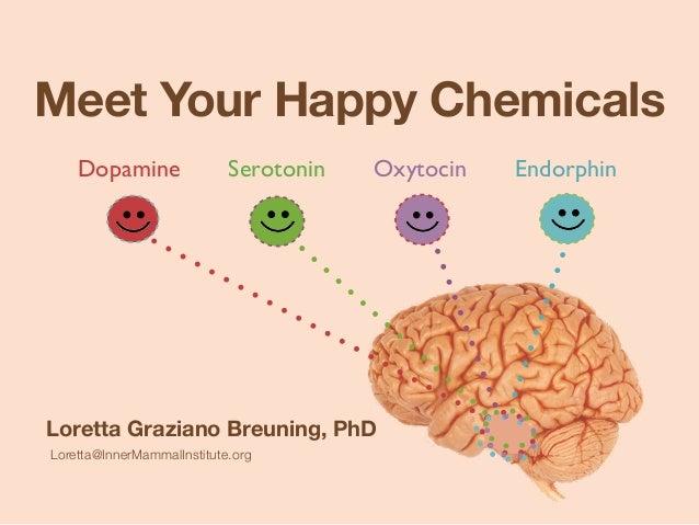 Meet Your Happy Chemicals Dopamine Serotonin Oxytocin Endorphin Loretta Graziano Breuning, PhD Loretta@InnerMammalInstitut...