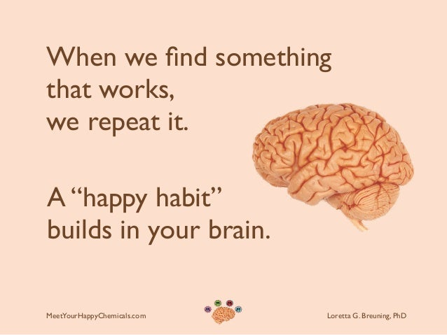 Image result for brain chemistry of habits
