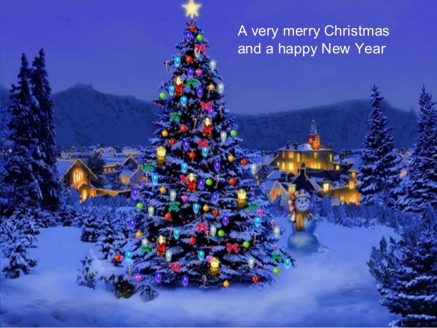 12 a very merry christmas and a happy new year