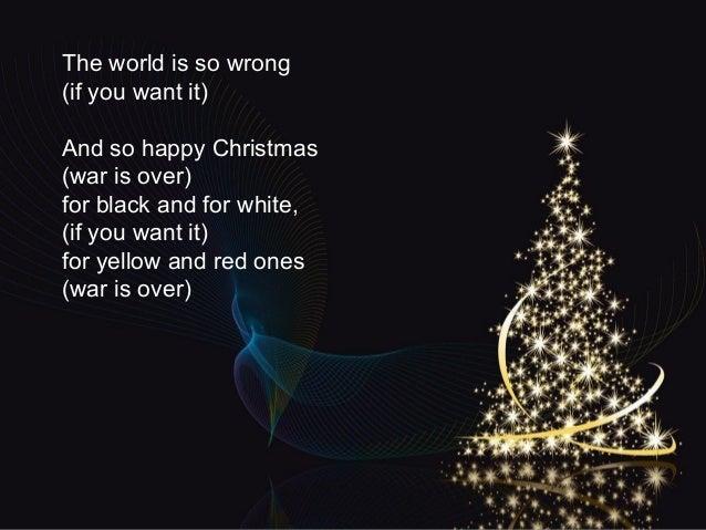happy christmas war is over blasorchester