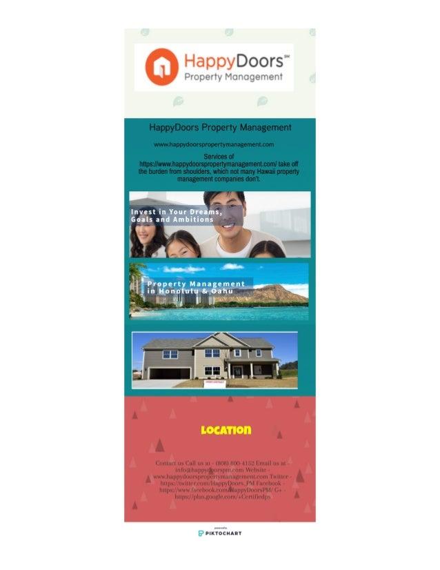 HappyDoors Property Management- www.happydoorspropertymanagement.com