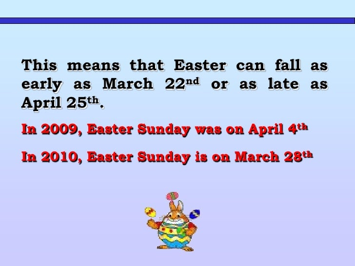 TRADITION      Easter is a time of springtime festivals.  In   Britain  Easter    is celebrated as the religious holiday c...