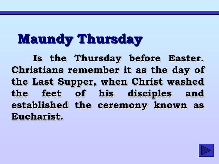 Good Friday     On       the     Friday  before Easter, Christians commemorate the crucifixion of Jesus Christ.     It is ...