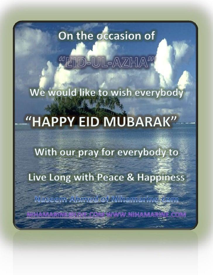 Happy eid ul-adha mubarak 2010
