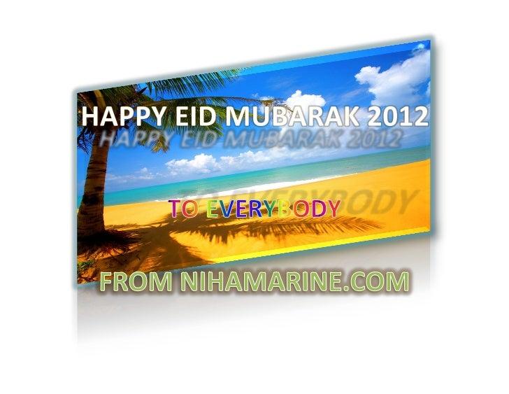 Happy eid mubarak 2012