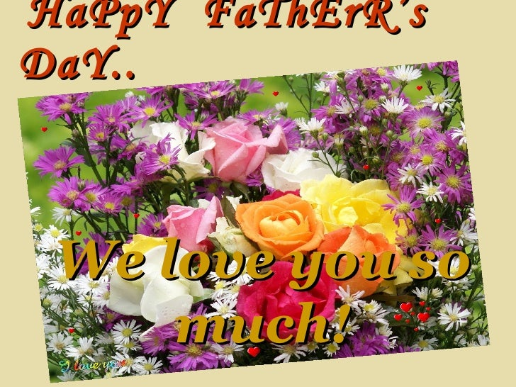 Happy Fathers Day To You My Husband