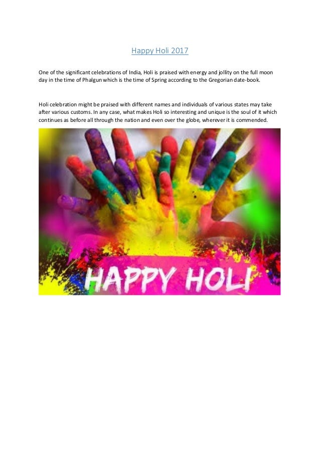 Happy Holi 2017 Images Pictures Photos Cards Wallpapers Hd