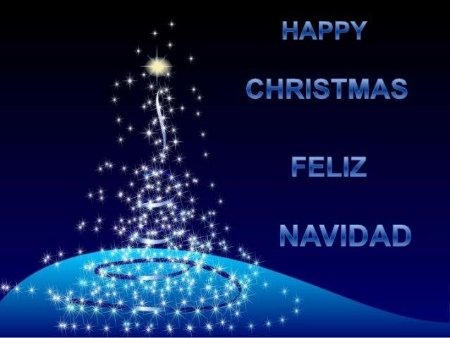 » ' HAPPY  : ** 1. CHRISTMAS             F ELIZ  NAVIDAD