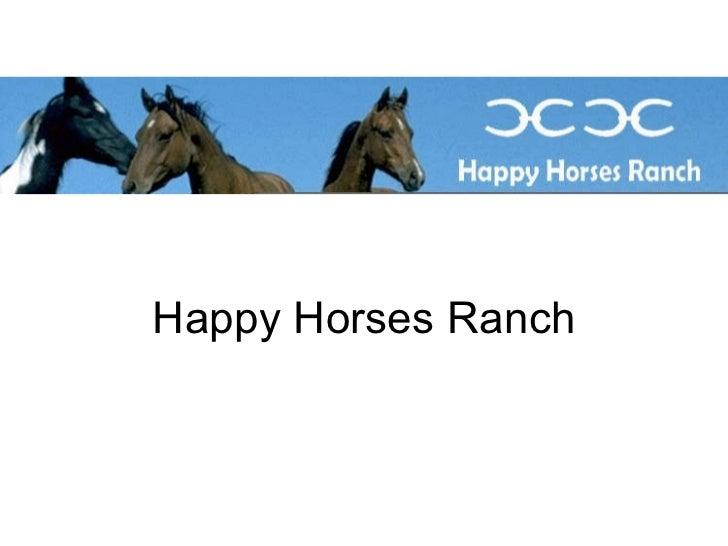 Happy Horses Ranch