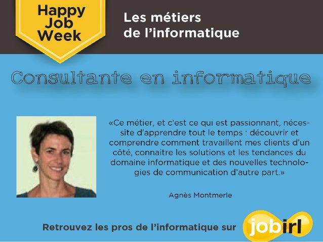 Happy Job Week _Les métiers de l'informatique