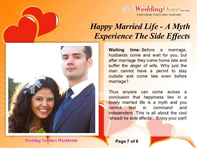 Positive And Negative Effects Of Marriage On Health