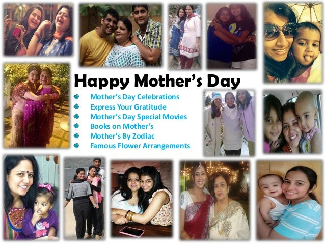 Happy Mother's Day Mother's Day Celebrations Express Your Gratitude Mother's Day Special Movies Books on Mother's Mother's...
