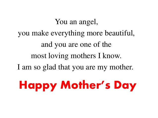 Happy Mother\'s Day Wishes, Messages & Quotes from Daughter & Son