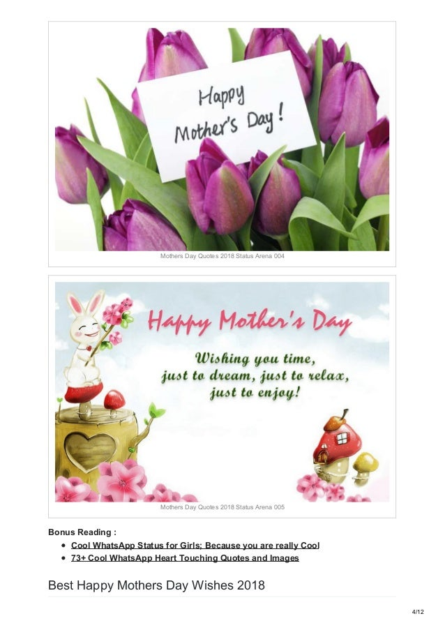 Happy mothers day wishes quotes messages for Whatsapp and ...