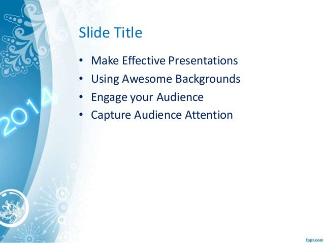 Happy new year 2014 theme powerpoint template toneelgroepblik