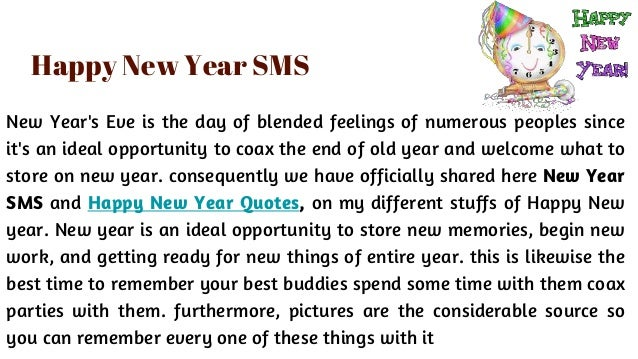 Happy New Year 2018 - Awesome Quotes And SMS Messages To Celebrating …