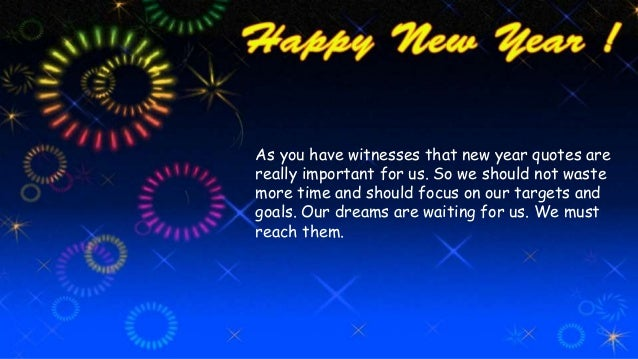 happy new year quotes wake up yourself now