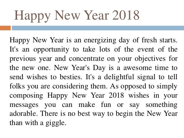 Happy New Year 2018 Quotes And Wishes Greetings