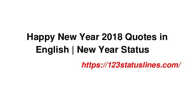 Happy New Year Quotes In English 36